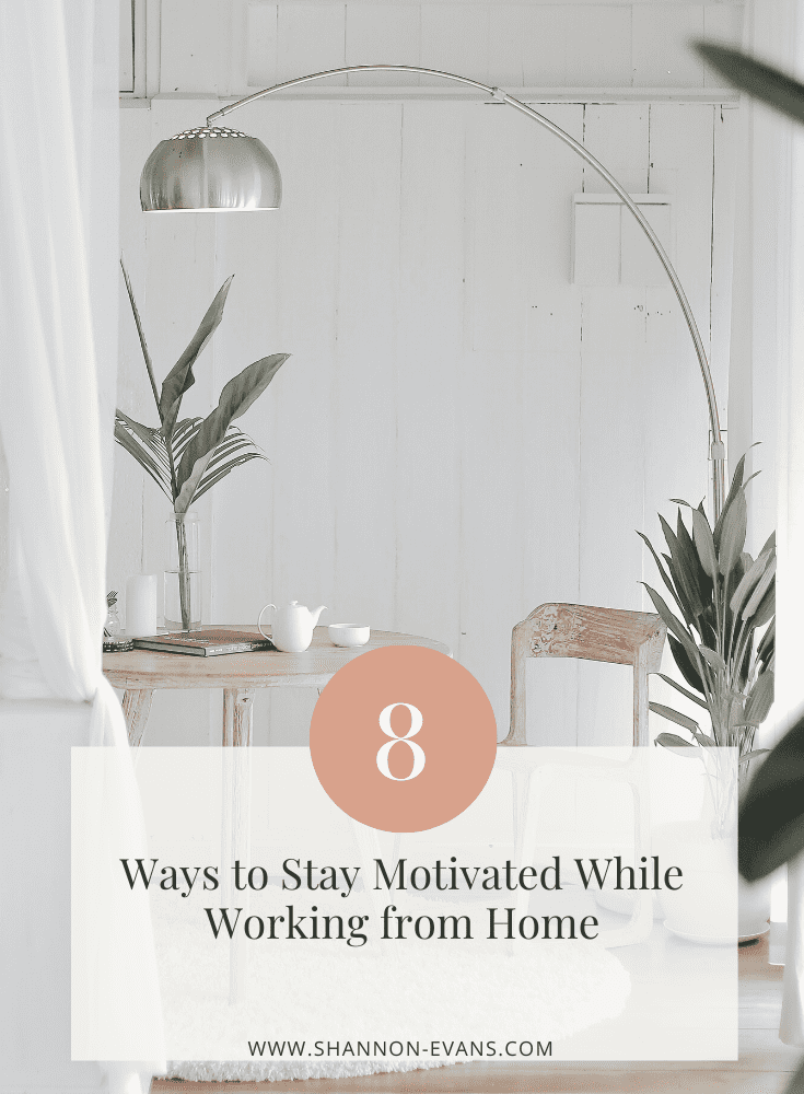 How I Stay Motivated Working from Home